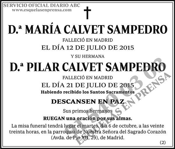 María Calvet Sampedro
